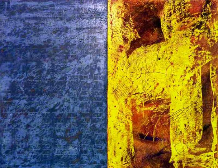 David Hayward Selected Works - Braque suggested Yellow (2015)