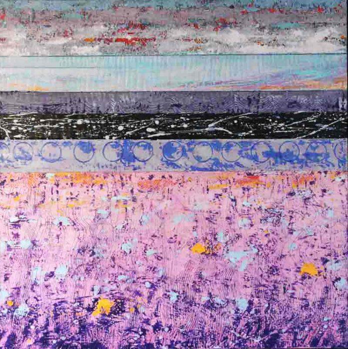 David Hayward Selected Works - Sea Wall/Pink Field (2017)