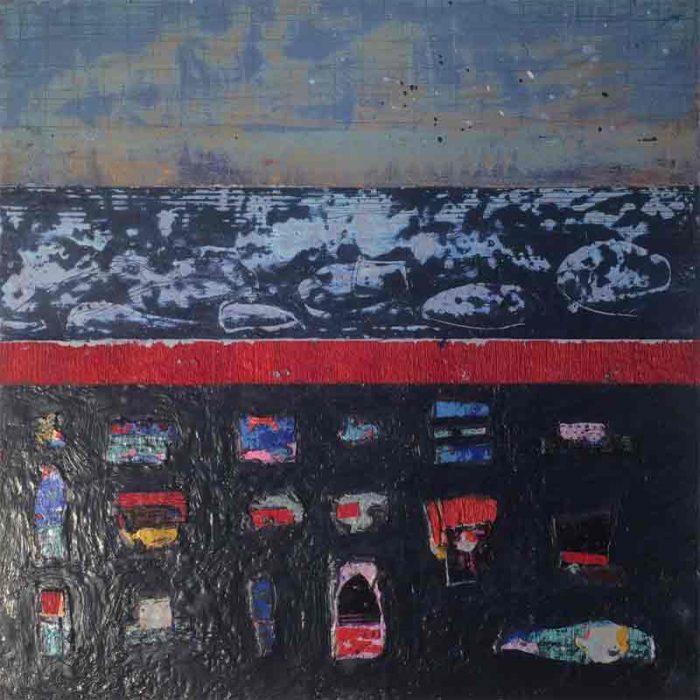 David Hayward Selected Works - Prayers at the edge of the Ocean III (2018)