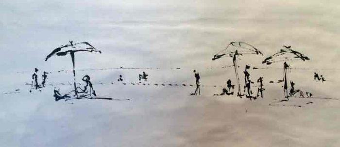 David Hayward Selected Works - Beach Mallorca
