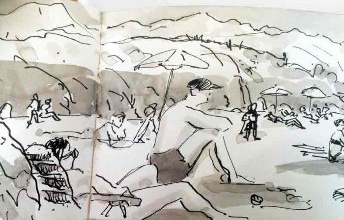David Hayward Selected Works - Playa de Toro LLanes N Spain 2004