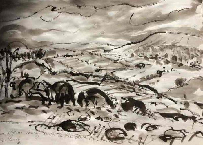 David Hayward Selected Works - Black Mountains Powys 2016