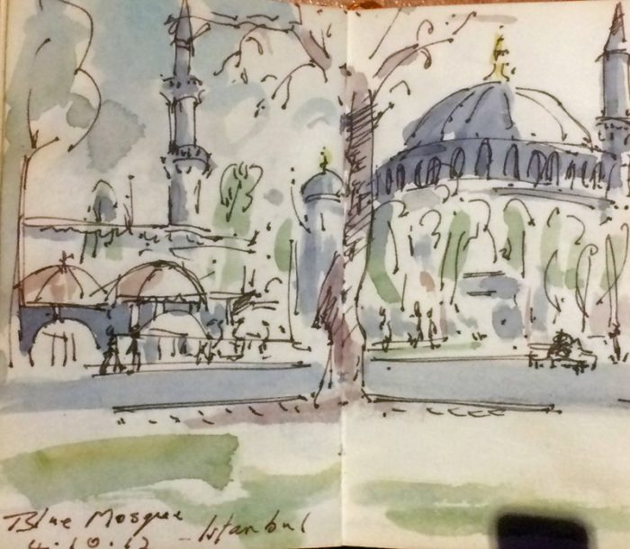 David Hayward Selected Works - Blue Mosque Istanbul 2012