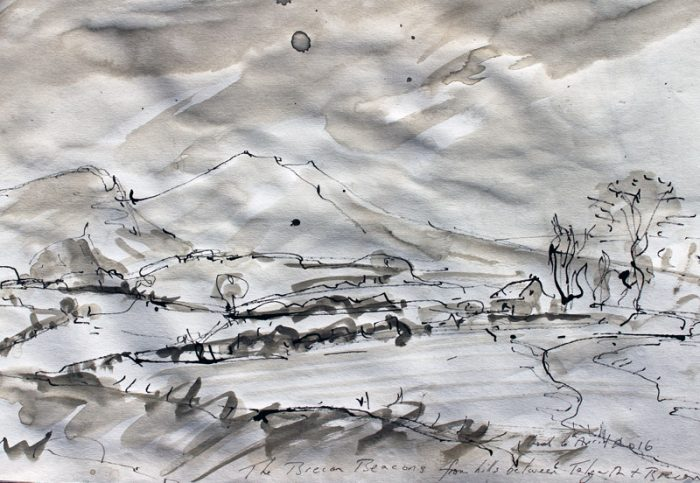 David Hayward Selected Works - Brecon Beacons 2015