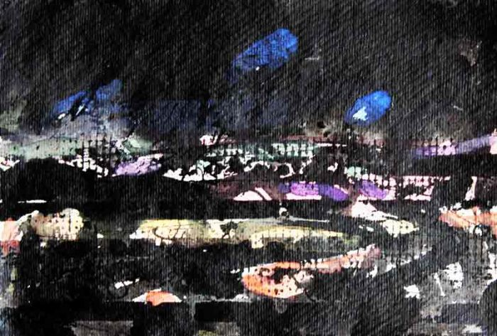 David Hayward Selected Works - Stour Valley - evening