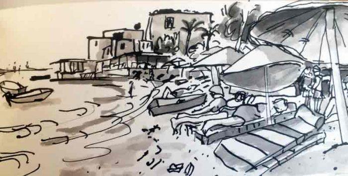 David Hayward Selected Works - Gamushluk Town Beach Turkey