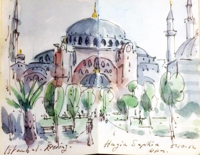 David Hayward Selected Works - Hagia Sophia Istanbul 2012