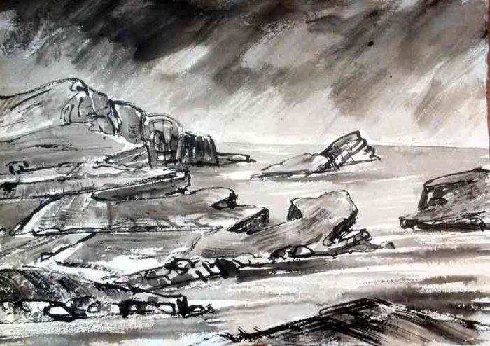 David Hayward Selected Works - Kerry Cliffs Portmagee 2017