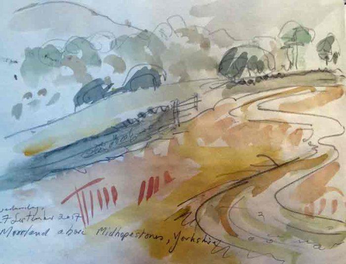 David Hayward Selected Works - Middlehopestone, Yorkshire 2017