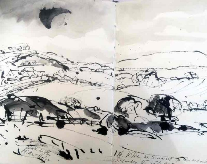 David Hayward Selected Works - Kilve Somerset 2015
