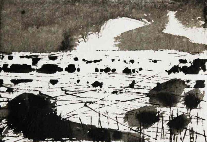 David Hayward Selected Works - Flood plain Ashford 2016