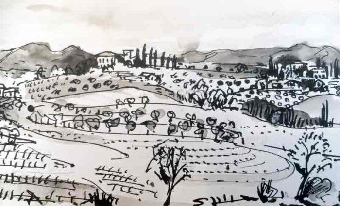 David Hayward Selected Works - Near Sienna 2003
