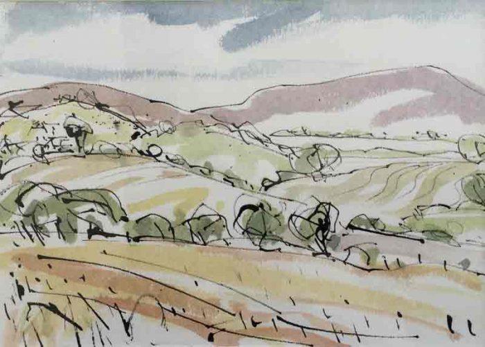 David Hayward Selected Works - Quantocks Somerset 2015