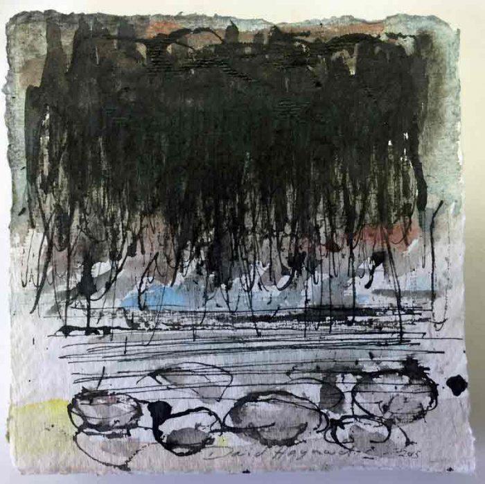 David Hayward Selected Works - Rain at Seasalter 2015