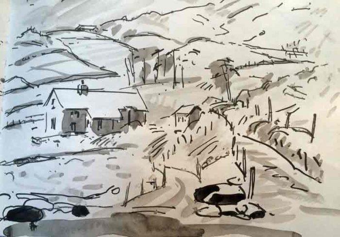 David Hayward Selected Works - Road to Bolas, Kerry