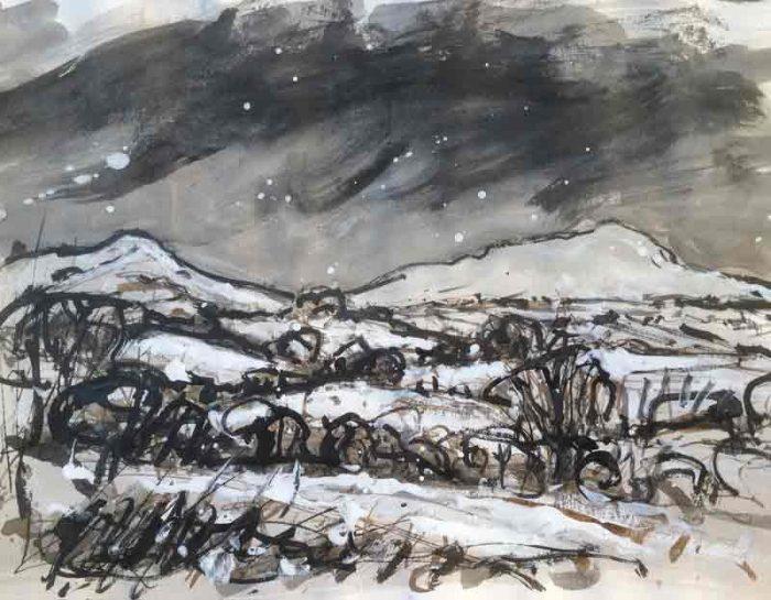 David Hayward Selected Works - Snow, Brecon Beacons