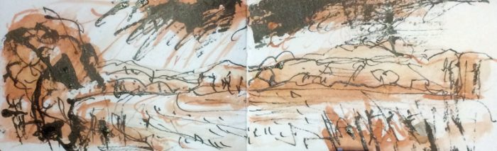 David Hayward Selected Works - Rain Stour Valley