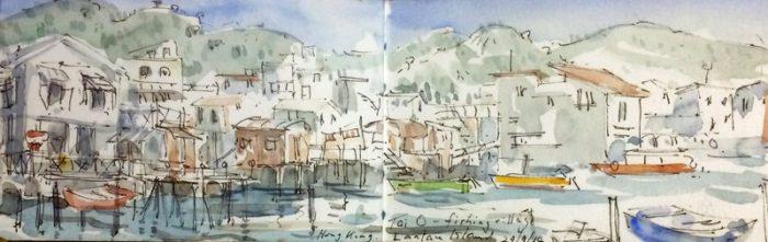 David Hayward Selected Works - TaiO Lantau Island Hong Kong 2015