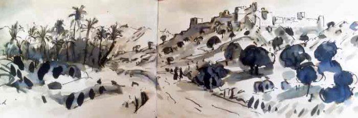 David Hayward Selected Works - Tiout Oasis Morocco