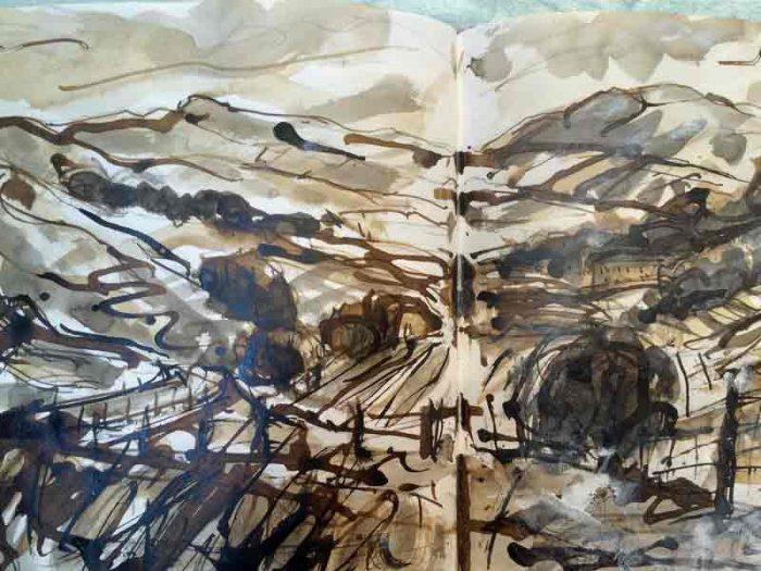David Hayward Selected Works - Near Little Hayfield, Peak District 2017