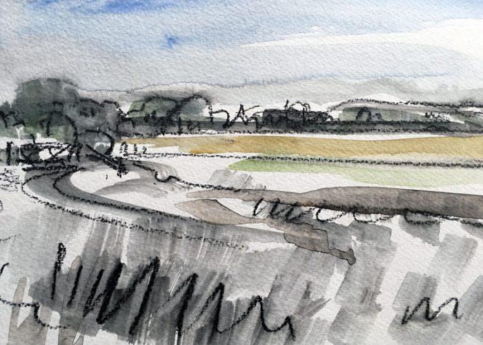 David Hayward Selected Works - Oar Marshes Aug 2020
