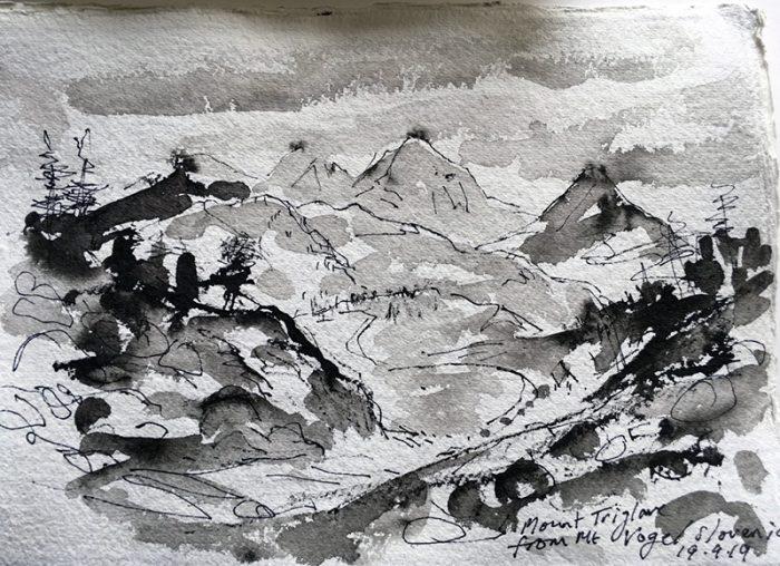 David Hayward Selected Works - Mt. Triglav, Slovenia 2019